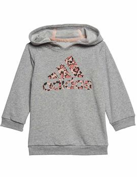 Conjunto Adidas I Dress Gris/Multicolor Niña