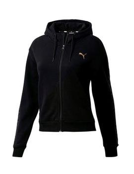Chaqueta Puma Metallic Nights Negro Mujor