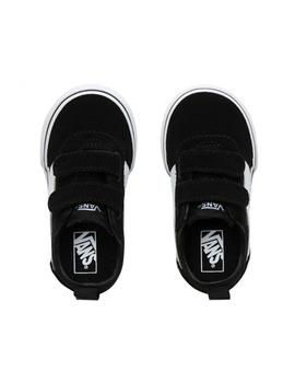 Zapatillas Vans Ward V Negro/Bco (Suede/Canvas)
