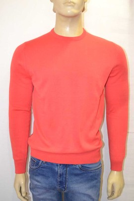Jersey DosGalgos Chico Basic C/redondo Coral Slim Fit Marino, Coral